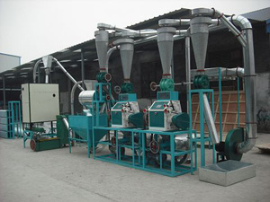 10t domestic wheat flour milling