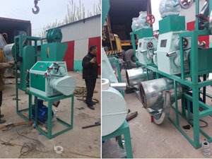 10T/D Wheat Flour Milling Plant Exported to Chile