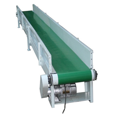 Fixed Belt Conveyor Is Another Design In Flour Mill Plant