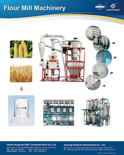 wheat and corn flour mill machinery