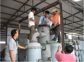 gasification installation