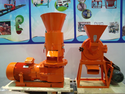 pellet press and maize mill