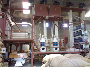 Complete Set Rice Milling Machinery Hot Sale