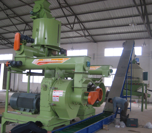 Biomass pellet production relies on good ring die mill