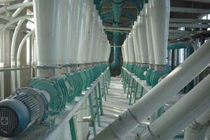 seamless pipes flour mill