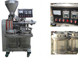 integrated sesame oil press