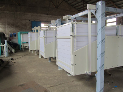 twin-section plansifter system
