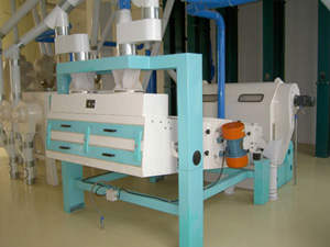 vibrating separator for flour mill plant