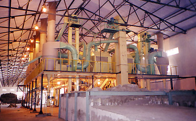 wheat flour-mill plant design